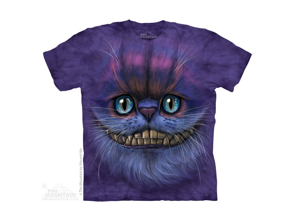 6eeb5a8f213d Dětské bavlněné tričko s batikovaným potiskem pohádkové kočky Šklíby