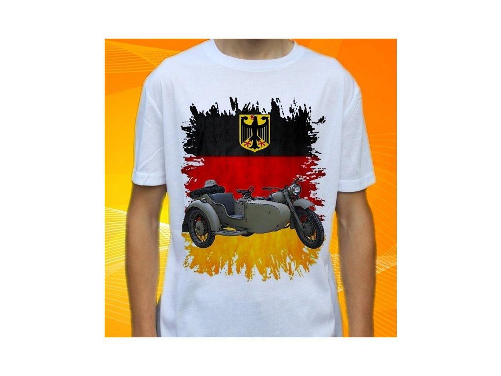 94895933d98 Dětské a pánské tričko s potiskem BMW R75