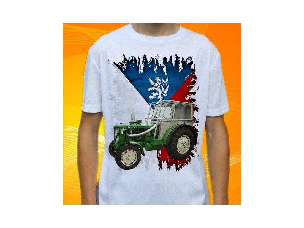 d6736a8689f Dětské a pánské tričko s traktorem Zetor Super 50
