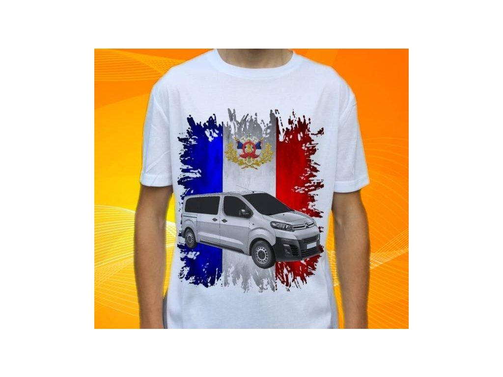 1d3f83c3c Dětské a pánské tričko s autem Citroen Jumpy
