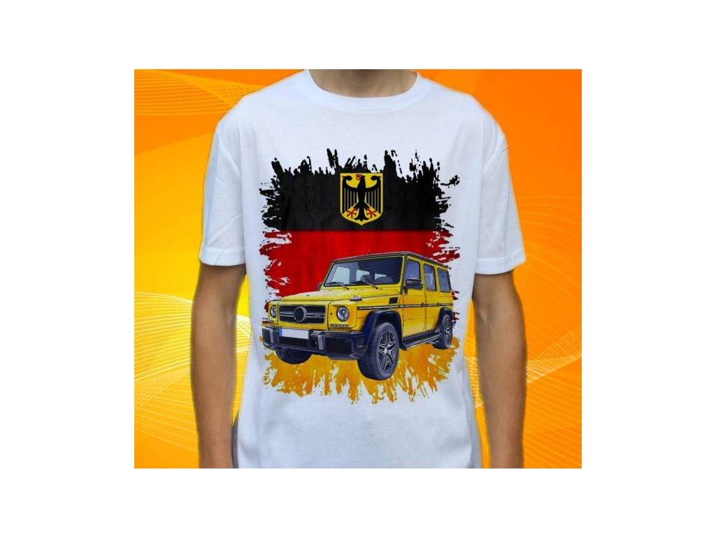 891c6d27b8fa Dětské a pánské tričko s autem Mercedes Benz G Class