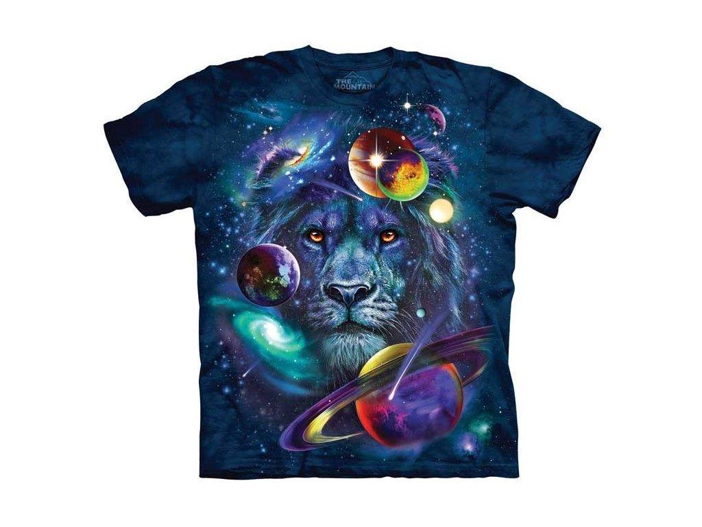 76bc704c4715 Dětské bavlněné tričko s batikovaným potiskem magického lva