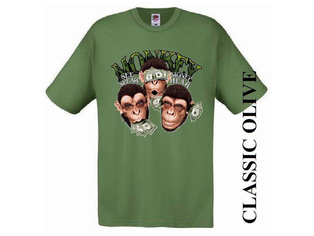 ... nemluvím Pánské vtipné tričko s potiskem nevidím d19c3b07ad