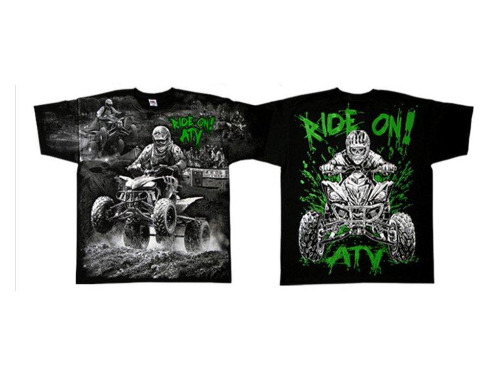 4f322adf4bfc tričko s potiskem čtyřkolky t-shirt ride on ...