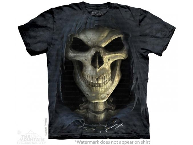 tričko-smrt-lebka-batikované-potisk-smrtka