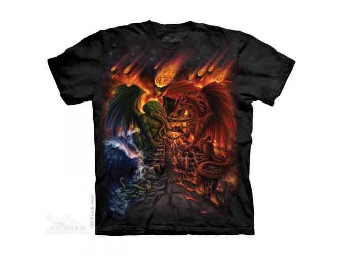 tričko-titáni-zodiak-batikované-potisk-živel