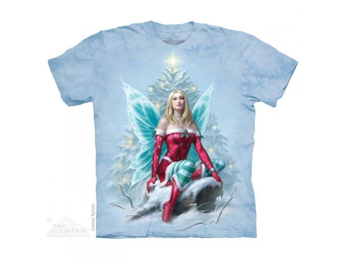 tričko, víla, pohádkové, batikované, potisk, mountain
