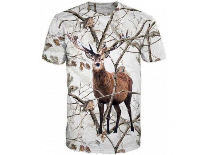 tricko jelen v zime