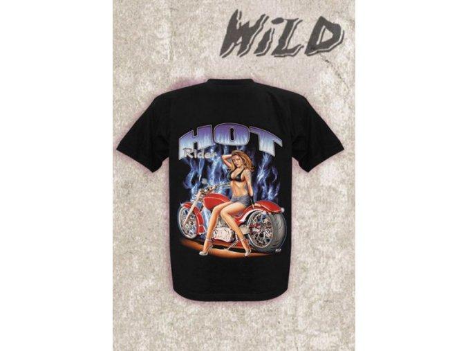 Tričko Wild Hot rider velikost M