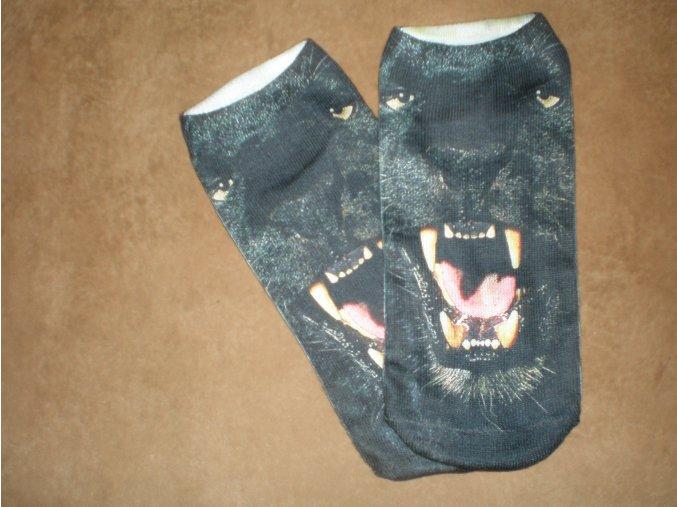 Ponožky Černý panter