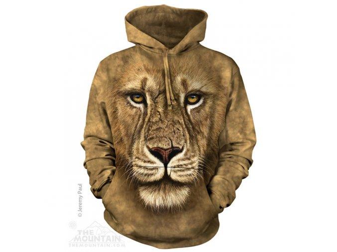 3d mikina se lvem