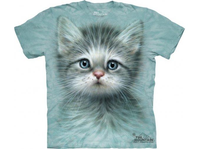 dětské tričko-kočka-koťátko-potisk-mountain