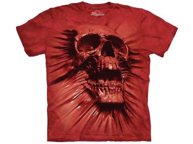 tričko s lebkou