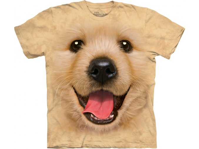 3d tričko s potiskem psa