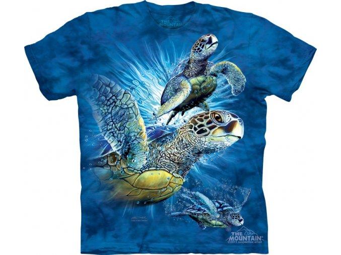dětské tričko-moře-želvy-potisk-mountain