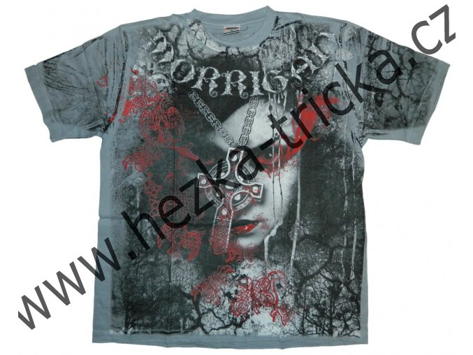 tričko, potisk, fantasy, Morrigan, královna, přízrak