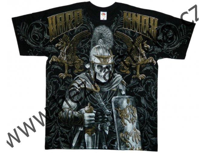 MMA tričko s celoplošným potiskem arény a gladiátora