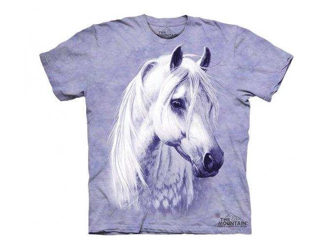 tričko, kůň, bělouš, potisk, mountain, dětské