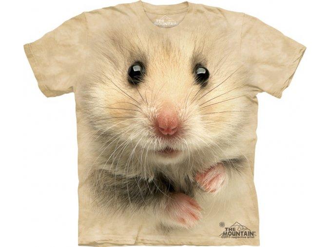 tričko,křeček, 3d,  potisk, mountain, dětské