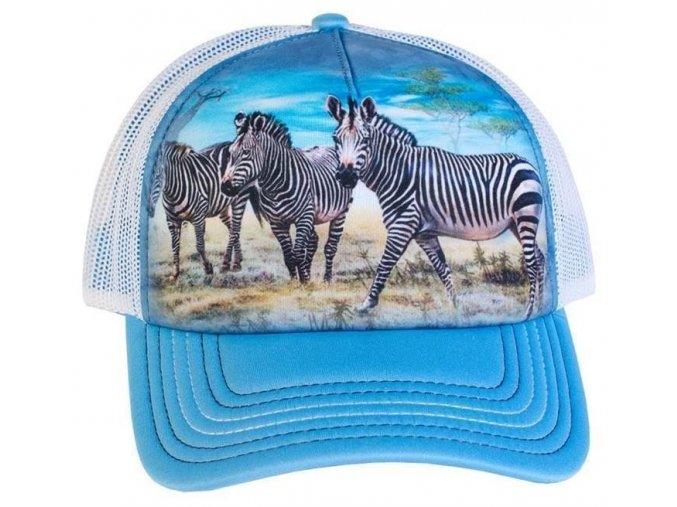Kšiltovka s potiskem zeber