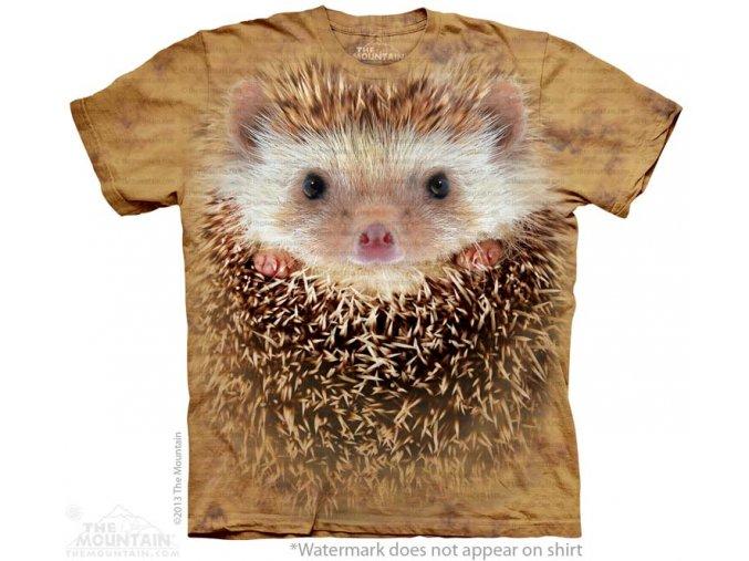 dětské tričko-ježek-3d-potisk-mountain