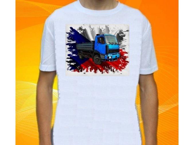 tričko, liaz fz, potisk, truck