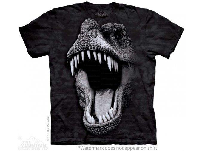 svítící tričko-dětské-dinosaurus-tyranosaurus rex-potisk