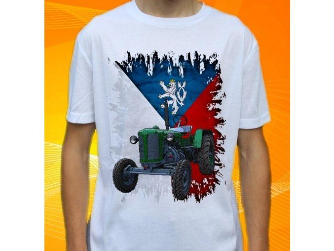 Dětské a pánské tričko s traktorem Zetor 25A Slovensko