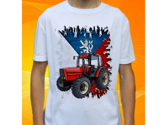 Dětské a pánské tričko s traktorem Zetor 10540 Slovensko