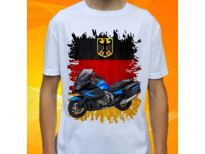 Dětské a pánské tričko s motorkou BMW K1600 GT