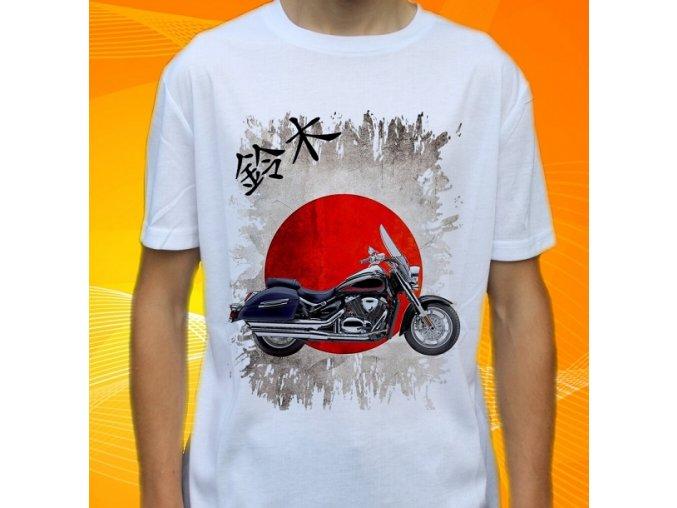 Dětské a pánské tričko s motorkou Suzuki Boulevard C90T