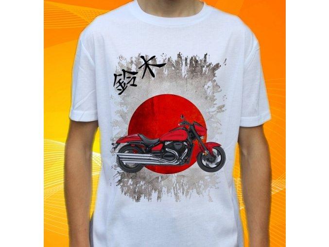 Dětské a pánské tričko s motorkou Suzuki Boulevard M90