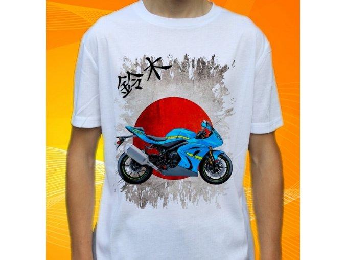 Dětské a pánské tričko s motorkou Suzuki GSXR1000RA