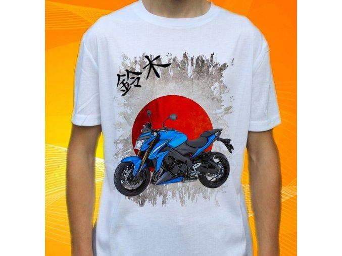 Dětské a pánské tričko s motorkou Suzuki GSXS1000ABS