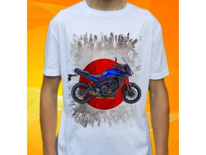Dětské a pánské tričko s motorkou Yamaha FJ09ABS