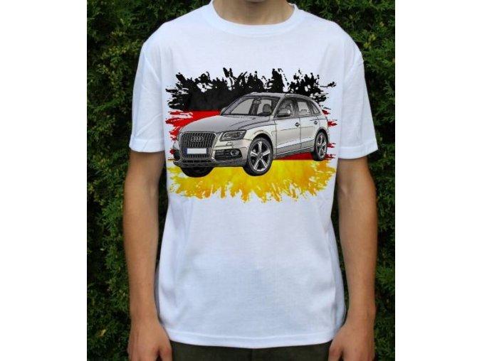 Dětské a pánské tričko s autem Audi Q5