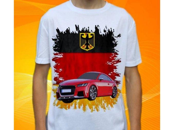 Dětské a pánské tričko s autem Audi TT
