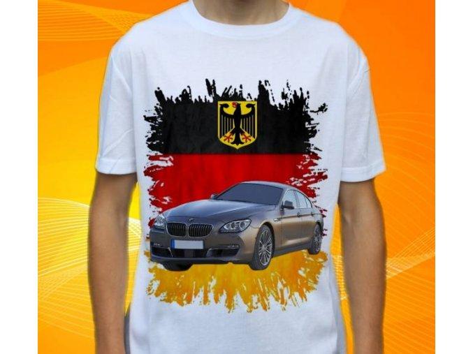 Dětské a pánské tričko s autem BMW F06