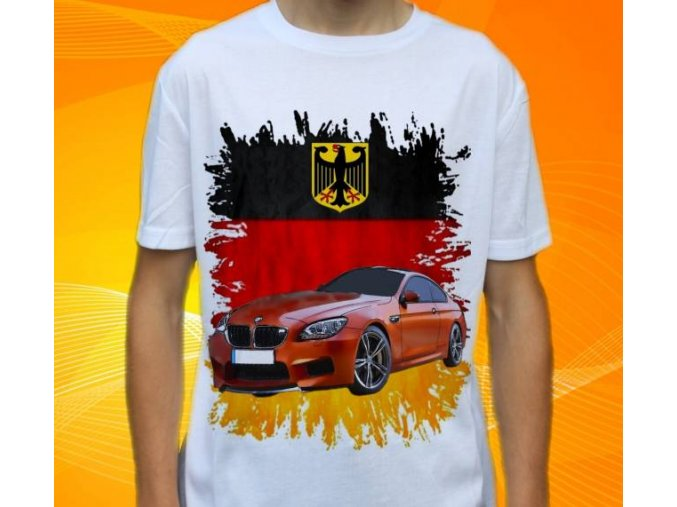 Dětské a pánské tričko s autem BMW F12
