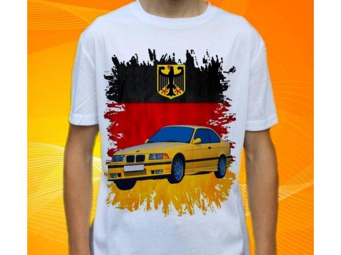 Dětské a pánské tričko s autem BMW M3 E36