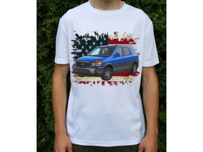 Dětské a pánské tričko s autem Buick Rendezvous 2003