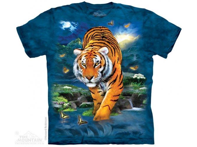 dětské tričko-tygr-příroda-potisk-bavlněné-mountain