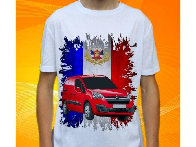 Dětské a pánské tričko s autem Citroen Berlingo New