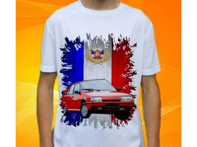 Dětské a pánské tričko s autem Citroen BX