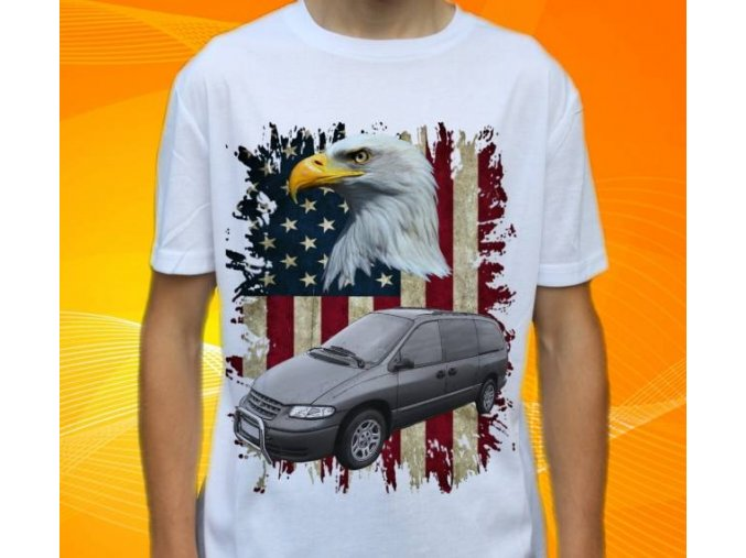tričko s autem Dodge Grand Caravan