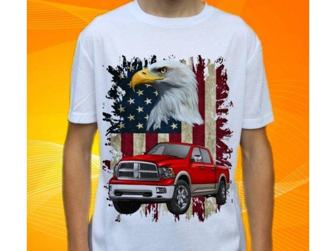 tričko s autem Dodge Ram