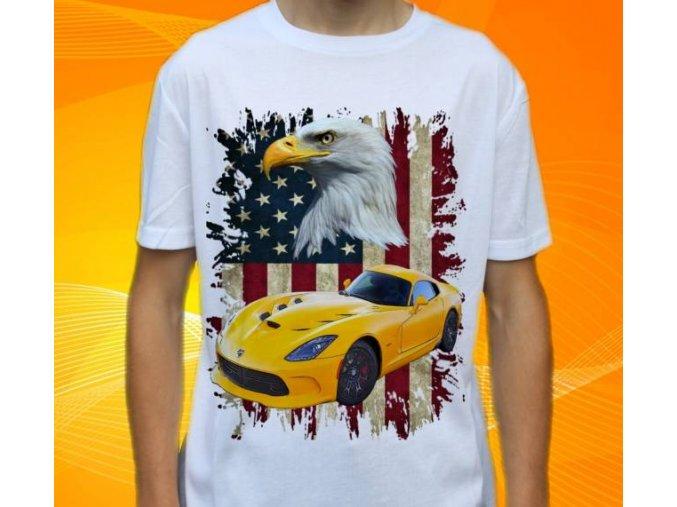 tričko s autem Dodge Viper