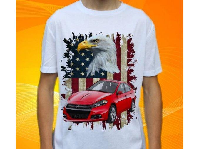 tričko s autem Dodge Dart