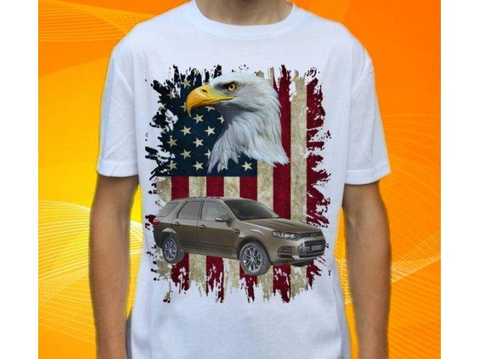 Dětské a pánské tričko s autem Ford Territory 2012