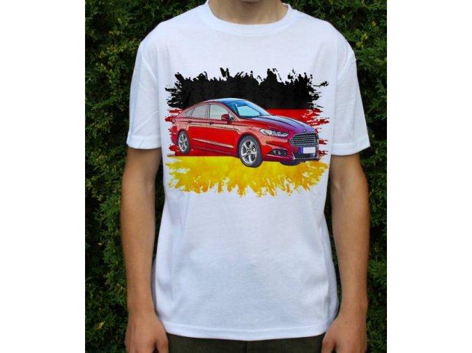 Dětské a pánské tričko s autem Ford Mondeo 2015